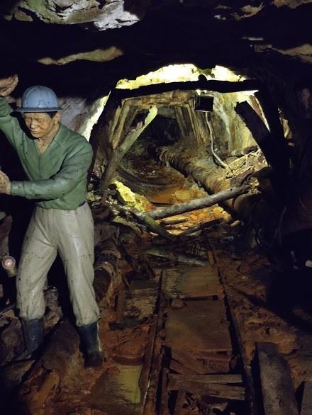 本山五坑礦場隧道,前面那條路路不能進入