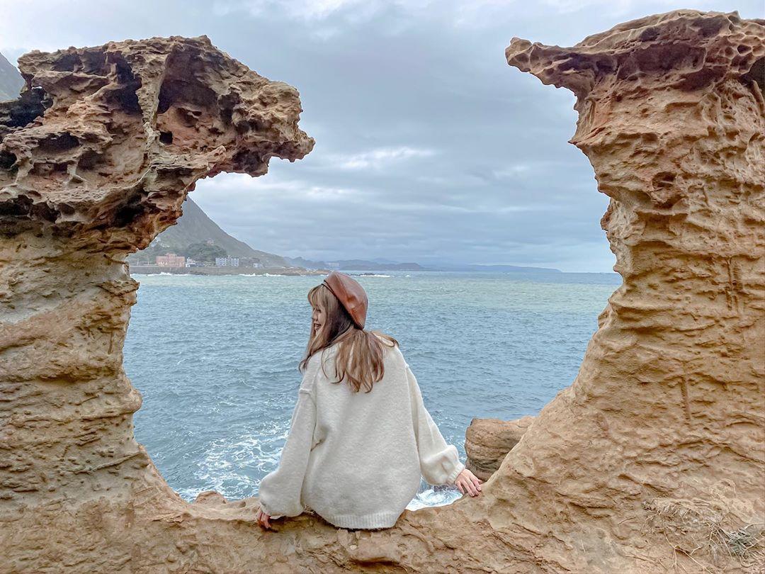 水金九之旅 大野狼與小綿羊岩石 陰陽海
