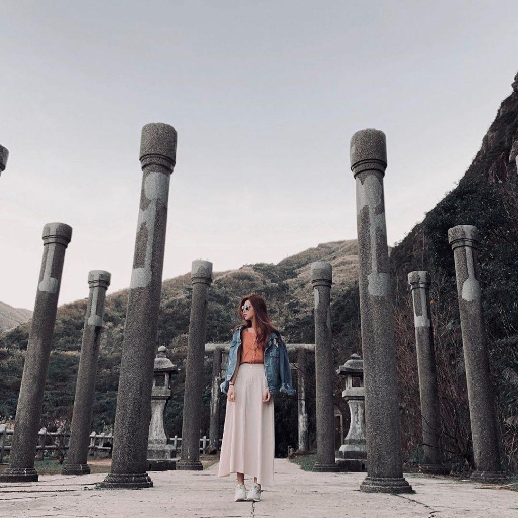 九份附近景點 金瓜石神社遺址