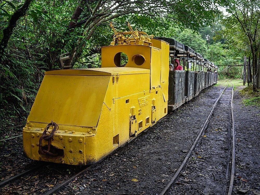 動物森友會挖礦 菁桐煤礦博物館