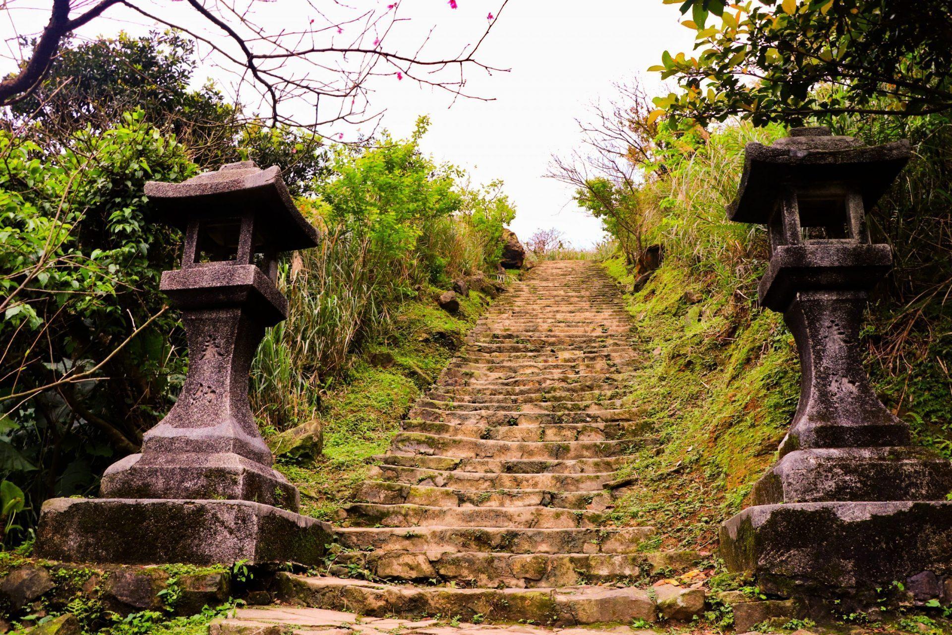 金瓜石黃金博物館 黃金神社 金瓜石神社階梯