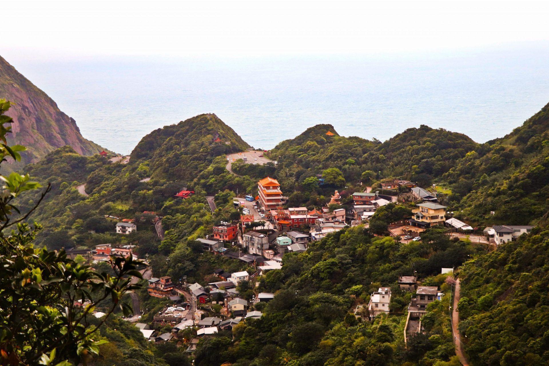 金瓜石山海景