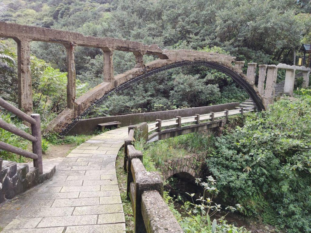 金瓜石三層橋山尖步道
