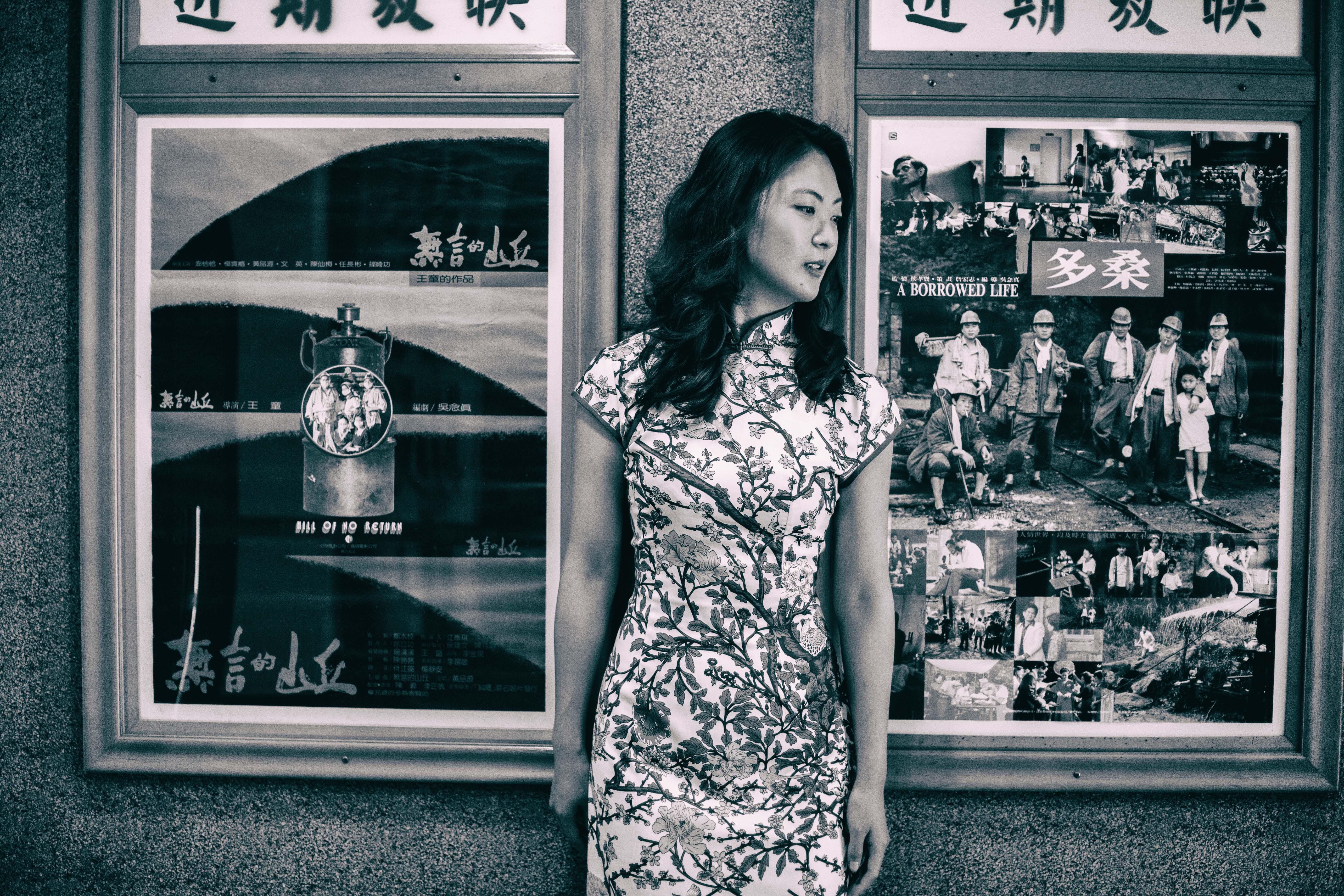 九份チャイナドレス |写真スポット 昇平戲院